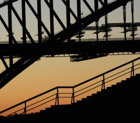 Harbour Bridge and the Opera House Steps
