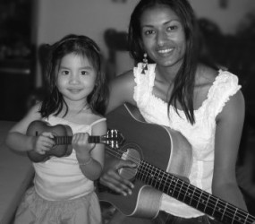 Jamming with Isabel :)