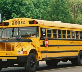 A Canadian School Bus