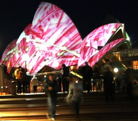 The Opera House in Pink!