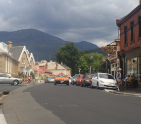 Downtown Hobart ;)
