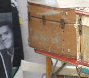 Old Suitcases and Elvis